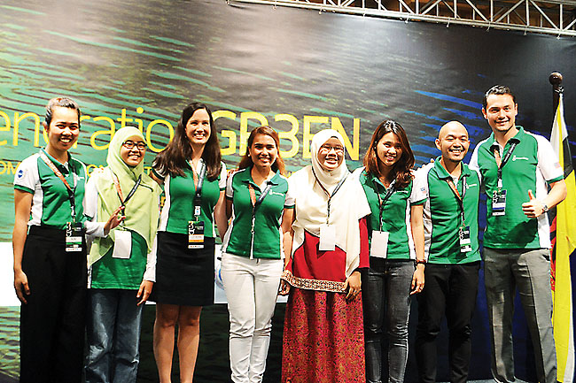 YSEALI hosted green workshop