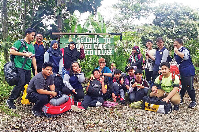 School camp offers nature learning experience
